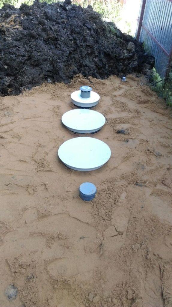 Канализация загородного дома близко грунтовые воды