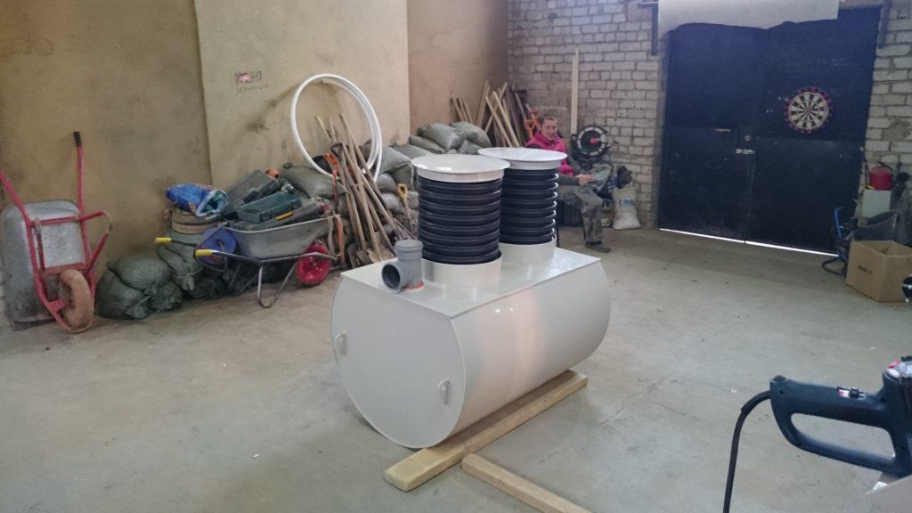 производство емкостей для сточных бытовых вод