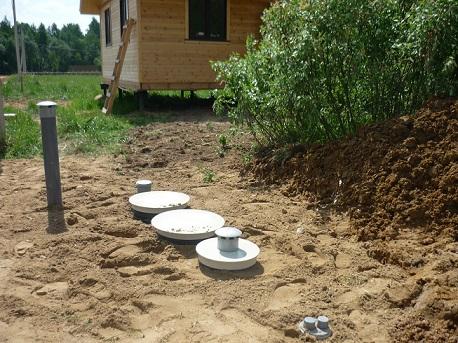 канализация Клён перед домом