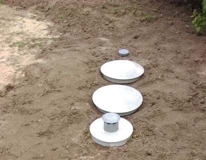 емкость для очистки сточных вод производства «Клен»
