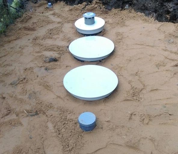 пластиковые герметичные выгребные ямы
