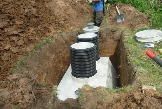 пластиковые резервуары для канализации