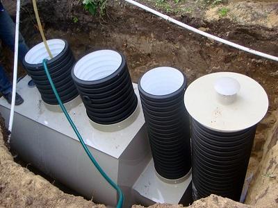 автономная очистная канализационная система