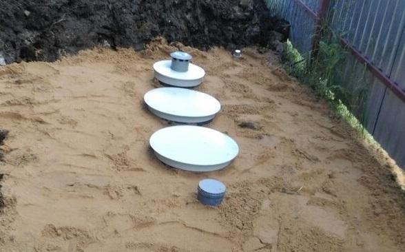 Очистные сооружения хозяйственно-бытовой канализации
